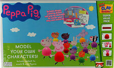 Peppa Pig Model Your Own Clay Characters - Make 6 Mini Figures
