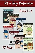 RJ - Boy Detective Bks. 1-8 : Fun Short Story Mysteries for Children Ages...