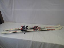 """Rossignol Equipe Toni Vogt downhill skis paired with Salomon bindings 66"""""""