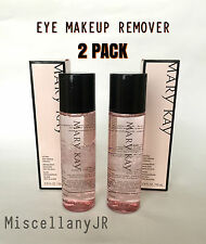 MARY KAY EYE MAKEUP REMOVER - OIL FREE - PACK OF 2 - FREE SHIPPING - FULL SIZE