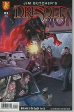 Jim Butcher's DRESDEN FILES #3 Welcome To The Jungle regular cover comic book
