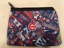 Chicago Cubs World Series Zipper Wallet