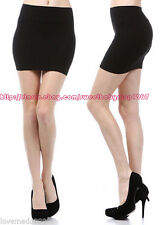 Womens office wear to work casual STRETCH PENCIL WIGGLE MINI  skirt  DRESS LARGE