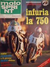 Motosprint 13 1978 Virginio Ferrari Graziano Rossi vs Kenny Roberts  [SC.31]
