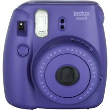 FujiFilm Instax Mini 8 Instant Film Camera-PURPLE/GRAPE-INSTANT POLAROID CAMERA