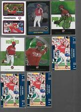 Lot of 8, All Ryan Howard High End Rookie Card RC SP #ed Topps Pristine Chrome