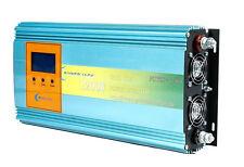 1200W GRID TIE POWER INVERTER DC14-24V TO AC110V, LCD power meter ,solar MPPT