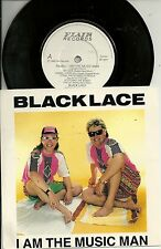 """Black Lace - I am the Music Man (Medley)  UK 7"""" (1989) Flair Records (orig)"""
