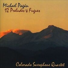 Pagan, Michael / Colorado S...-Twelve Preludes & Fugues CD NEW