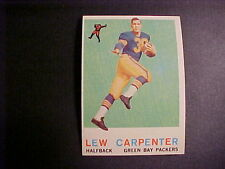 1959  TOPPS  FOOTBALL  #95  CARPENTER  NM+++