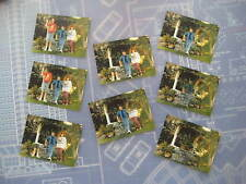Back to the Future - McFly Disappearing/Fading Family Photos - Set of 8 - BTTF