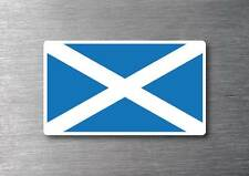 Scotland flag sticker quality 7 year water & fade proof vinyl car laptop