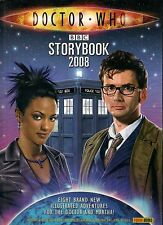DOCTOR WHO STORYBOOK 2008 with dust jacket
