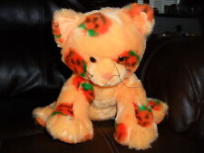 Build a Bear Halloween Jack O'Lanterns Kitty cat