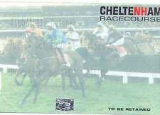 Cheltenham 24 Oct 2000 Horse Racing Ticket