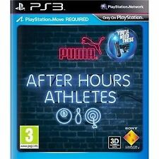 *After Hours Athletes PS3* (Playstation Move Required)~Fast & Free Postage~ ELE7