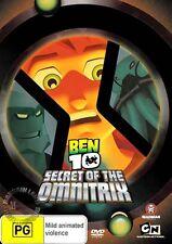BEN 10 MOVIE: SECRET OF THE OMNITRIX : NEW DVD