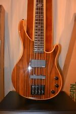 Washburn SHB85CO 4 String Bass, Stunning Beautiful Cocobolo Hardwood Top Edition
