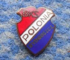 POLONIA BYDGOSZCZ / BKS / SPEEDWAY FOOTBALL FUSSBALL 1970's GREATER PIN BADGE