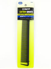 CONAIR CARBON SMOOTH ANTI-STATIC CUTTING COMB -  1 PK. (93424)