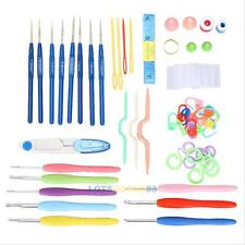 Knitting Tools Crochet Needle Hook Accessories Supplies With Case Knit Kit Set