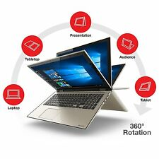"New Toshiba Fusion 15.6"" Full HD Touchscreen i5 6GB 1TB Notebook Windows 10"
