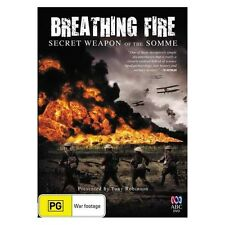 BREATHING FIRE THE SECRET WEAPON OF THE SOMME DVD ABC History Channel WW1 Doco