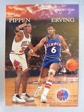 *1:18 Packs* 1996 Topps Stars Imagine #I4 Scottie Pippen / Julius Erving