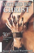 Tortured for Christ, Richard Wurmbrand, Very Good Book