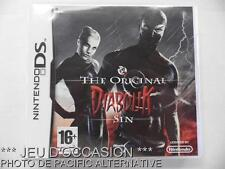 OCCASION: Jeu THE ORIGINAL DIABOLIK SIN nintendo DS game francais voleur action