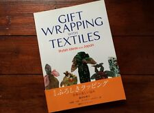 Japanese Furoshiki Craft Book: 'Gift Wrapping with Textiles' Guide in English