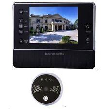 """3.5"""" LCD Digital Peephole Viewer 120° Door Eye Doorbell Video Color IR Camera B"""
