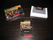 Donkey Kong Country 2 SNES Super Nintendo Entertainment System - Complete in Box