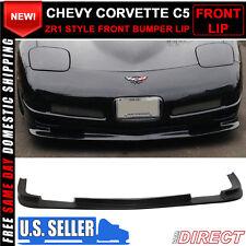 Fits 97-04 Chevy Corvette C5 ZR1 Style Front Bumper Lip - Polyurethane (PU)
