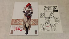 Dawn Convention Sketchbook 2005 Signed Joseph Linsner Limited Edtion Comic Book