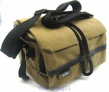New DSLR SLR Canvas case Camera Shoulder Bag For Canon Nikon Sony Fuji Olympus