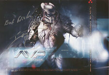 IAN WHYTE Signed 12x8 Photo ALIEN Vs PREDATOR COA