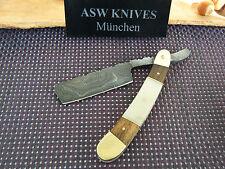 Damast Messer Rasiermesser Damaststahl Straight Razor Handarbeit 23 cm Top Neu