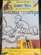 Curious George Color-Tees The Shirt Kids Color Youth X-Large 14/16