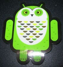 "ANDROID DROID Whoogle the Owl robot logo Sticker 2.5"" Google andrew bell"