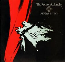 """THE ROSE OF AVALANCHE always there BLAZE 18T uk fire records 1986 12"""" PS EX/EX"""