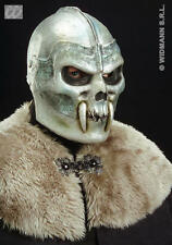 Skull Warrior Mask Helmet Halloween Demon Monster Fancy Dress