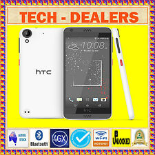 "UNLOCKED HTC DESIRE 530 WHT+4GX WIFI HOTSPOT+BLUE TICK/RURAL+5"" ANDROID+16GB+GPS"