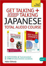 NEW - JAPANESE  TOTAL AUDIO COURSE (2 x MP3 CD Rom) GET TALKING and KEEP TALKING