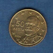 Gréce - 2004 -  50 centimes d'euro - Pièce neuve de rouleau -