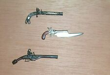 1/6 BLACK POWER WEAPONS - Pistols - Flintlock lot A