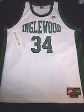 Paul Pierce 34 1996 Inglewood High School Nike TAG Basketball Jersey XXL Celtics