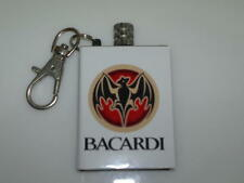 Bacardi Rum Custom Match Survival Flint Cigarette Lighter Fire Gift Key Ring