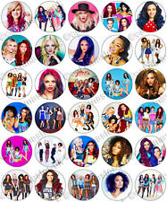 30 x Little Mix Party Collection Edible Rice Wafer Paper Cupcake Toppers