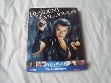 RESIDENT EVIL AFTERLIFE  bluy-ray JAPAN SteelBook *RARE*  3Disc excl BONUS DISC
